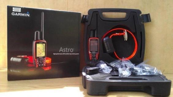 Garmin astro 320 with new dc 50 collar