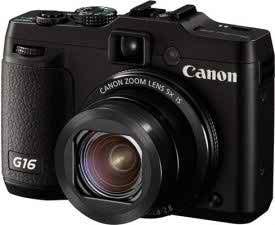 Canon powershot g16 compact digital camera
