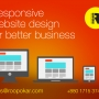 Responsive website design for better business