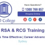 Cheapest RSA & RCG Courses in Sydney & Parramatta NSW