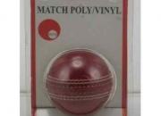Cricket ball poly/vinyl