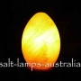 USB Sphere Salt Lamp Changes Colour 8cm Diameter