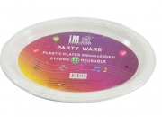 Bulk lot x 576 plastic oval plates party ware 30 x