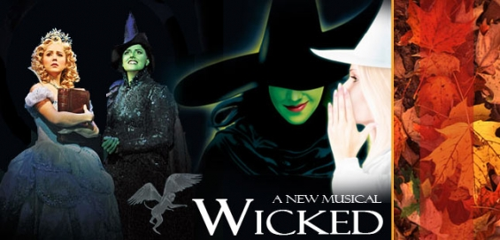 Wicked musical show london