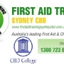 40% Off First Aid Certifications in Sydney & Parramatta NSW