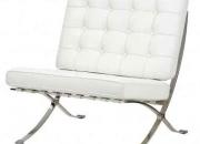 Replica barcelona chair - italian leather match