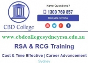 RSA RCG Courses & Training in Sydney & Parramatta