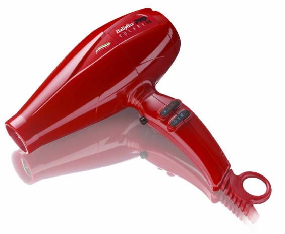 Babyliss pro volare 2200w dryer red v1 full size