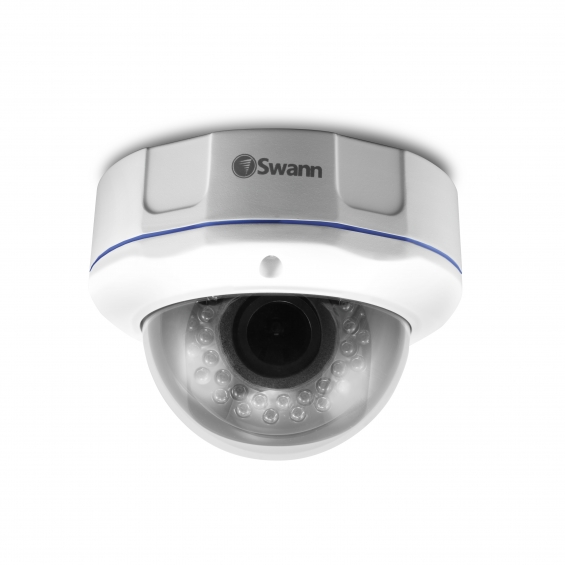 Swann pro-781 ccd vandal resistant vari-focal dome camera 700tvlwdr night vision 30m, swpr