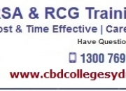 RSA and RCG Training Certificate in Parramatta & Sydney NSW