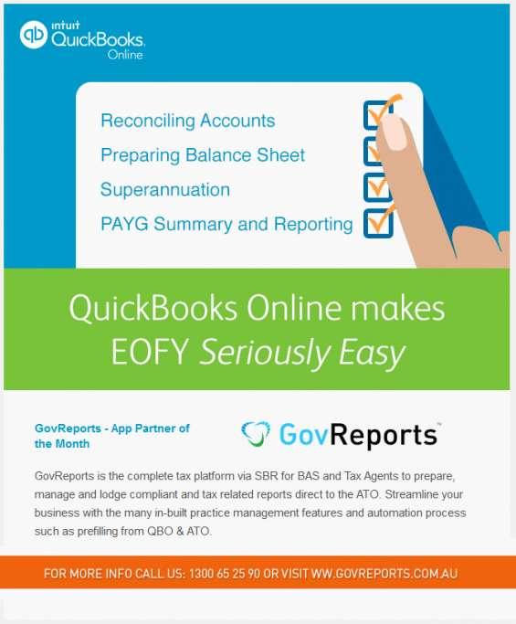 Quickbooks online govreports