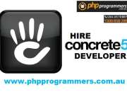 concrete5 developers
