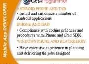 Mobile web developer