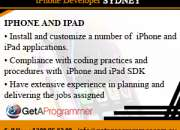 IPhone Developer Sydney