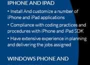 mobile web application development cross platform