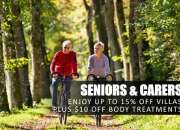 Seniors and Carers Discount for a Mt Tamborine Accommodation