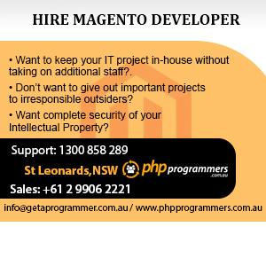 Magneto web developer sydney