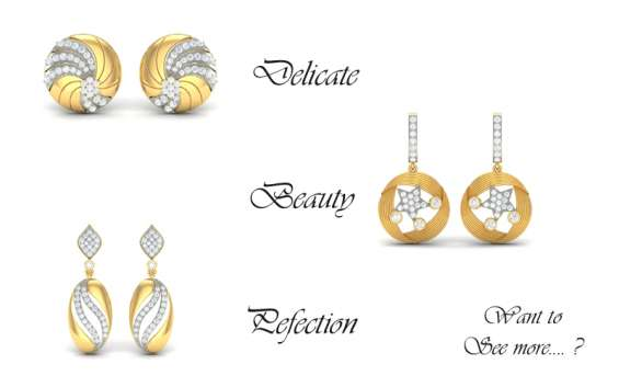 Diamond earring australia