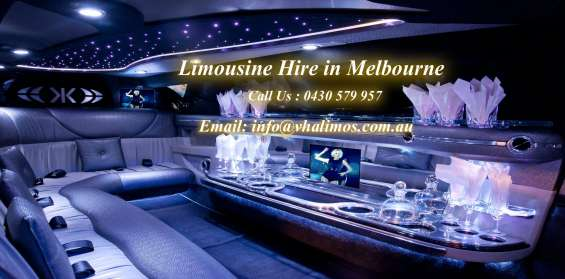 Vha limousine offers the best limousine services and limo vehicle selection in melbourne. we provide best service for vha limousine cars hire in melbourne.want to book a limo call on 430579957 or email me on andylimo591@gmail.com