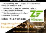 Web application in Zend framework brisbane