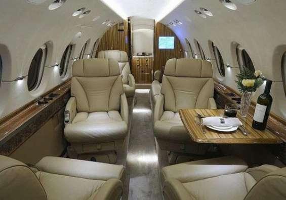 Corporate jet charter