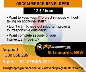 Oscommerce developer melbourne