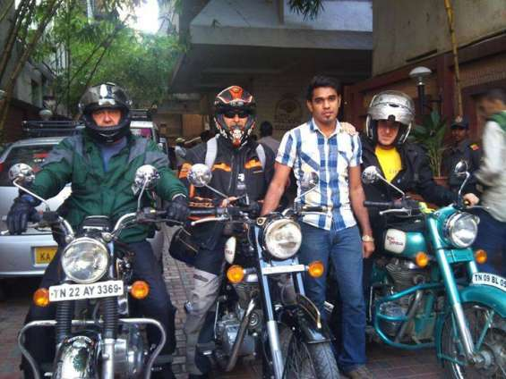 South indian guided motorcycle tours covering tamil nadu, kerala, karnataka and goa