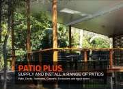 Patios roof designs brisbane - patioplus