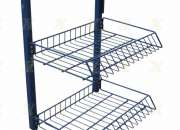 Wire Basket Display Stands