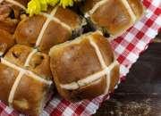 Choc Cross Buns - Easter Hamper
