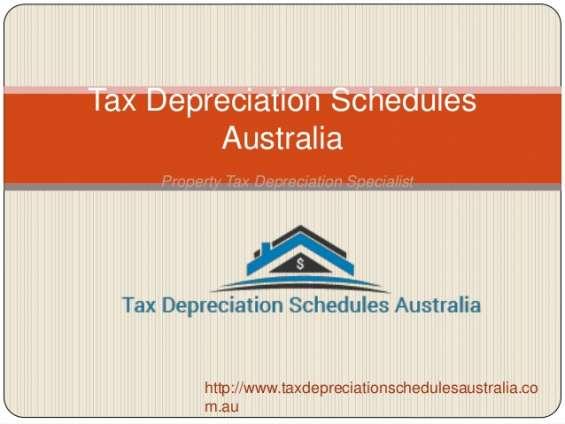 Tax depreciation schedules australia in tax depreciation specialists.