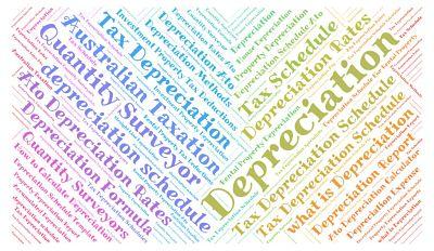 Tax depreciation schedules australia for depreciation report.
