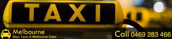 Maxi taxi melbourne - book maxi taxi online or call - 0469 283 466
