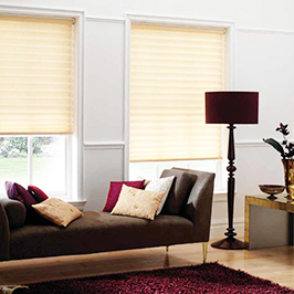 Choose from a wide variety of blinds and awning