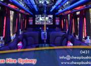 Party bus Sydney At Low worth