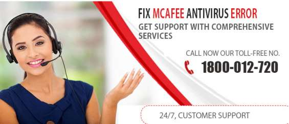 Unbelievable mcafee antivirus technical support service- 1800 012 720