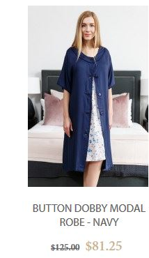 Find a great selection of womens cotton robes in different styles and patterns!