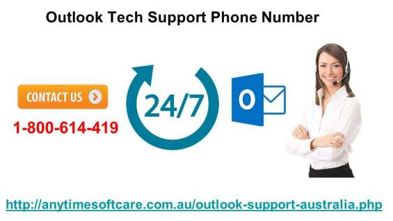 Outlook tech hurdles? call at 1-800- 614-419| support phone number