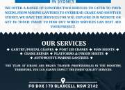 Gantry Jib Crane Nsw  Crane Repairs And Suppliers In Sydney