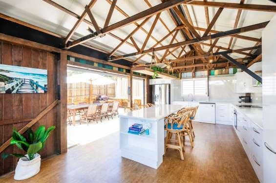 North coast waterfront accommodation wooli