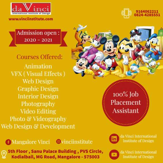 Best animations and vfx institute in mangalore