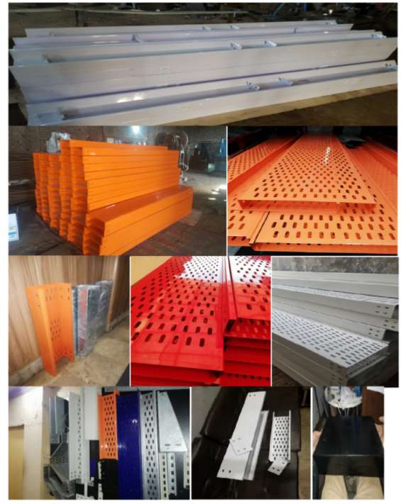 Cable tray /lightning pole