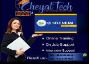 selenium online training by cheyat tech