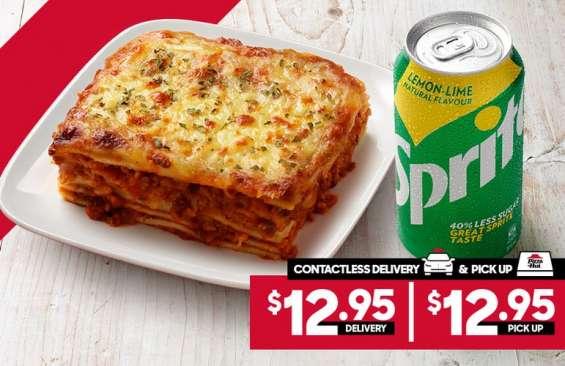 Pasta combo at pizza hut moorebank - moorebank, nsw