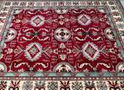 Buy certified handmade caucasian design kazak rug 304x250cm stunning square-ish for full r