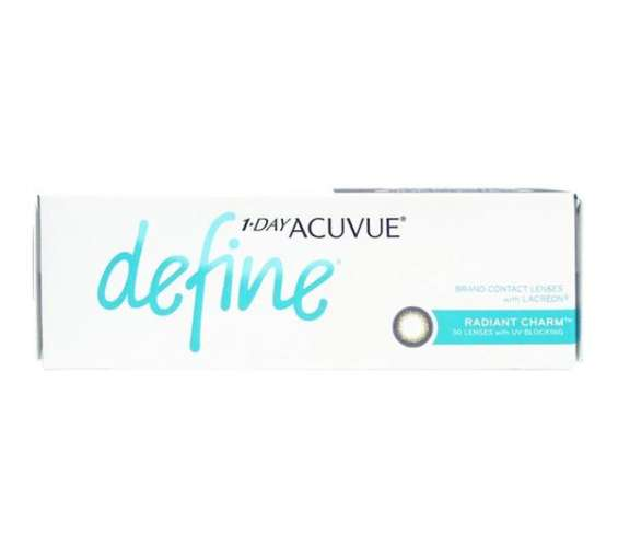 1-day acuvue define radiant charm contact lenses (30 pack) | anzlens
