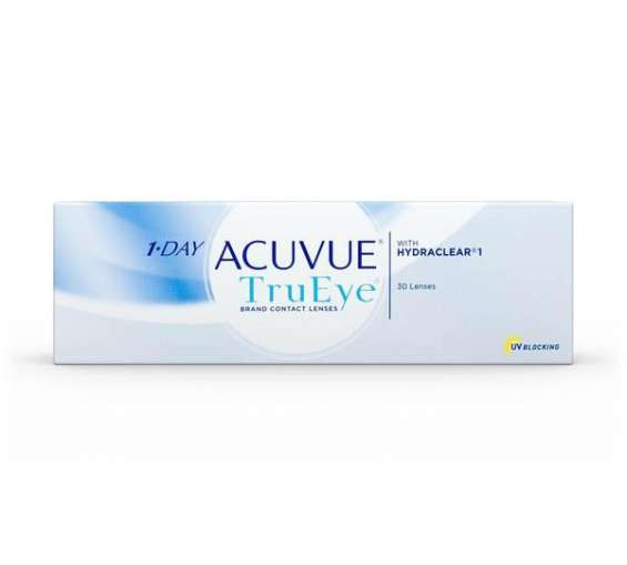 1-day acuvue trueye contact lenses (30 pack) | anzlens